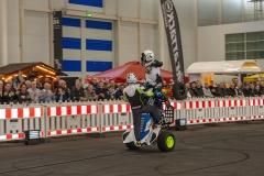 HMT Hamburger Motorrad Tage 2020: Spektakuläre Stunts mit dem Quad in der Aktionshalle B5