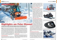 ATV&QUAD Magazin 2020/01, Seite 46-47, Service Winter-Ausrüstung: Highlights am Polar-Himmel