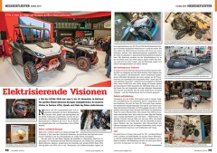ATV&QUAD Magazin 2020/01, Seite 58-59, Messegeflüster EICMA 2019: Elektrisierende Visionen