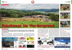 ATV&QUAD Magazin 2020/01, Seite 78-79, Szene Schweiz; Quad Club Aargau: Fahrkunst im Vordergrund