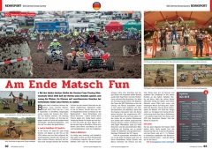 ATV&QUAD Magazin 2020/01, Seite 82-83, Sport; GCC German Cross Country: Am Ende Matsch Fun