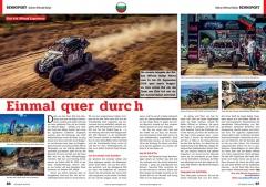 ATV&QUAD Magazin 2020/01, Seite 86-87, Sport; Balkan Offroad Rallye / Eble 4x4 Offroad Experience: Einmal quer durch