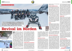 ATV&QUAD Magazin 2020/01, Seite 92-93, Szene Erlebnis & Events; ATV&QUAD Leserreise Schwedisch Lappland: Revival im Norden