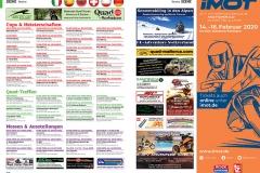 ATV&QUAD Magazin 2020/01, Seite 96-97, Szene Termine: Cups & Meisterschaften, Quad-Treffen, Messen & Ausstellungen