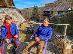 Après-Offroad: Chilling nach dem Offroad-Training