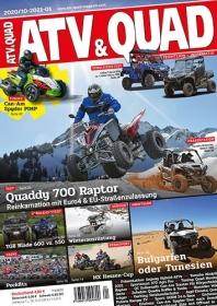 ATV&QUAD Magazin 2020/10 - 2021/01, Titel