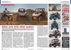 ATV&QUAD Magazin 2020/10 - 2021/01, Seite 24-25, Präsentation Segway Snarler 600, Villain und Fugleman: Alles neu und alles anders