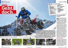 ATV&QUAD Magazin 2020/10 - 2021/01, Seite 26-27, Test Quaddy Raptor 700: Geht doch...