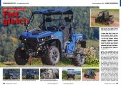 ATV&QUAD Magazin 2020/10 - 2021/01, Seite 36-37: Vergleichstest Linhai Mittelklasse UTVs Linhai T-Boss 550 vs. Linhai LM 570: Fast gleich