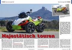 ATV&QUAD Magazin 2020/10 - 2021/01, Seite 42-43, Tuning Weiser Can-Am Spyder PIMP: Majestätisch touren