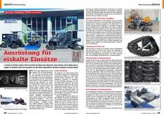 ATV&QUAD Magazin 2020/10 - 2021/01, Seite 48-49, Service Winter-Ausrüstung: Ausrüstung für eiskalte Einsätze