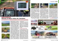 ATV&QUAD Magazin 2020/10 - 2021/01, Seite 60-61, Szene Deutschland PLZ 7; Eble 4x4 / Endurofunten: Offroad in Deutschland – 20 Meter neben der Autobahn