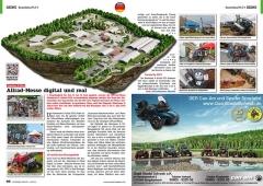 ATV&QUAD Magazin 2020/10 - 2021/01, Seite 66-67, Szene Deutschland PLZ 9; Abenteuer & Allrad: Allrad-Messe digital und real