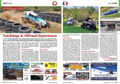 ATV&QUAD Magazin 2020/10 - 2021/01, Seite 72-73, Szene Schweiz; HB-Adventure Switzerland / Fredy Barth Motorsport & Events: Trackdays & Offroad-Experience