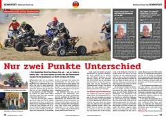 ATV&QUAD Magazin 2020/10 - 2021/01, Seite 74-75, Sport; MotoCross Hessen-Cup: Nur zwei Punkte Unterschied