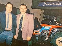 Geschäftspartner seit 1985: die Brüder Günter und Thomas Sackstedter, Quadhändler in Saarlouis