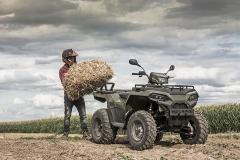 Präsentation Polaris Sportsman 570 Agri Pro Edition: Arbeiterin mit vielfältigen serienmäßigen praktischen Details für die Land- und Forstwirtschaft