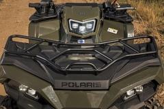 Polaris Sportsman 570 Agri Pro Edition, Robust & praktisch: Stahl-Gepäckträger vorne & hinten