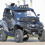 Quad Stadel Schwab, Umbau Can-Am Commander 1000 LTD