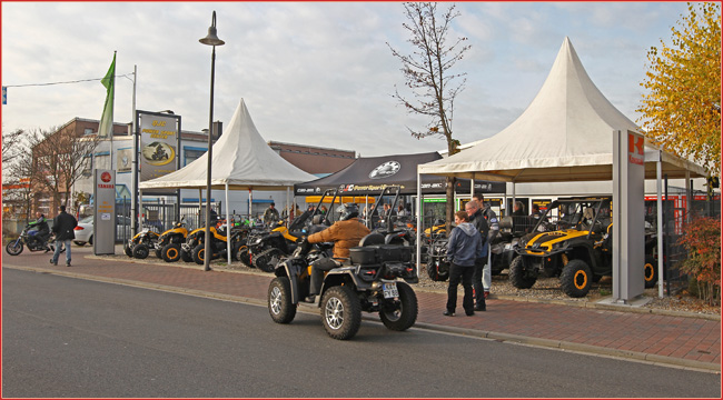 qjc oktoberfest 2013 can am days in br hl atv quad. Black Bedroom Furniture Sets. Home Design Ideas