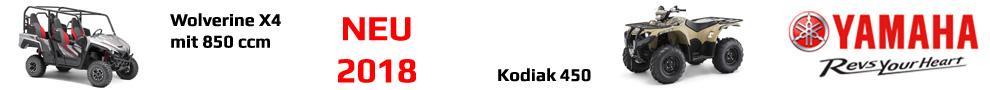 Yamaha - Wolverine 850 / Kodiak 450 EFI