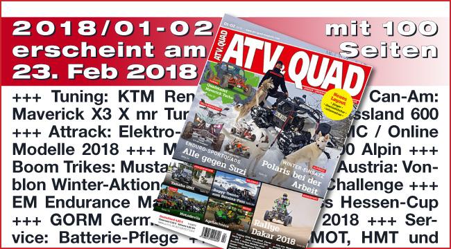 ATV&QUAD Magazin 2018/01-02
